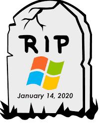 Windows 7 & Server 2008 End of Life